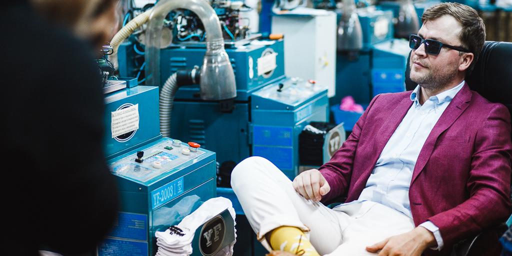 Сергей Тонков: «Рынок дизайнерских носков ждет большое будущее»