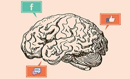 Психология пользователей Facebook (инфографика)
