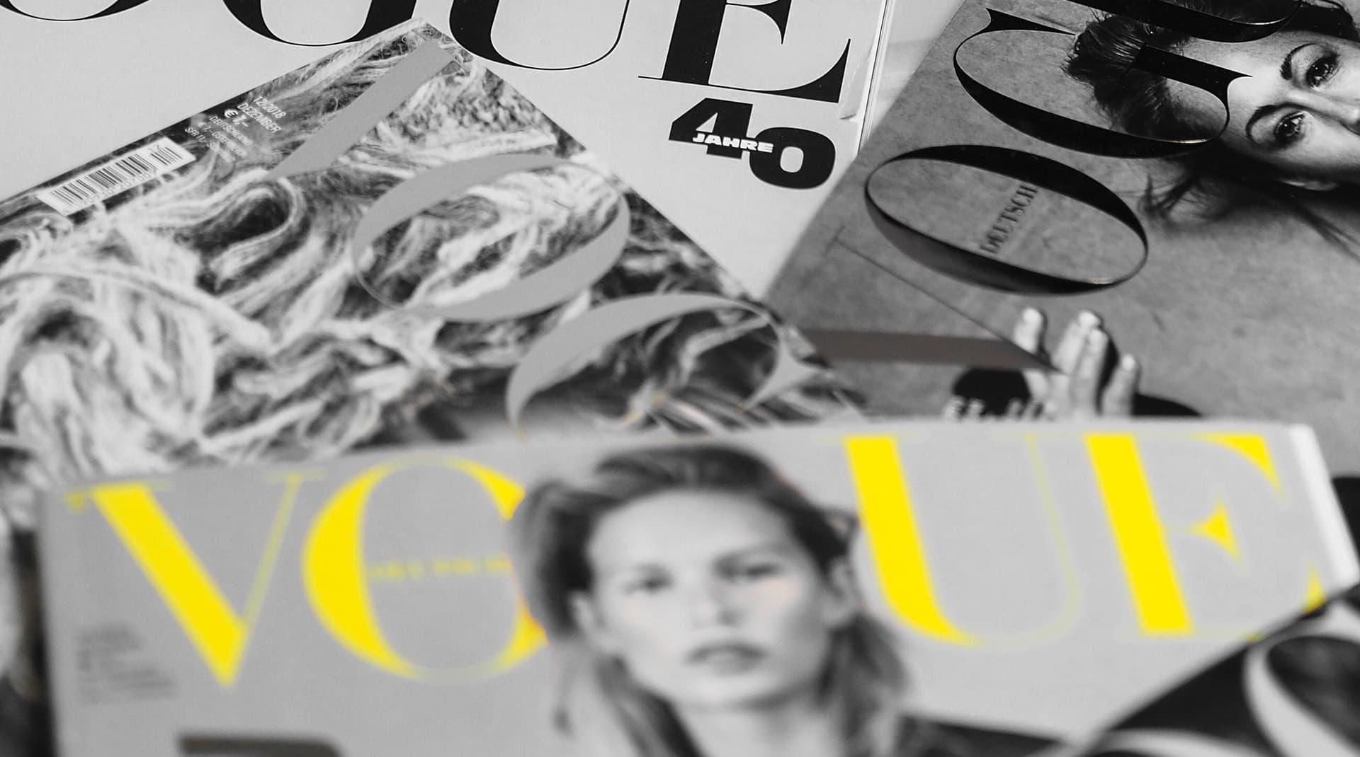 Vogue, Elle и даже «Домашний очаг»: новые тренды в глянцевых обложках
