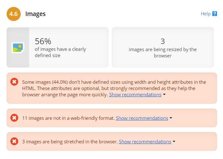 Сервис «ругается» на WebP, хотя PageSpeed Insights, наоборот, его рекомендует
