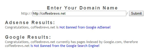Bannedcheck.com дает добро