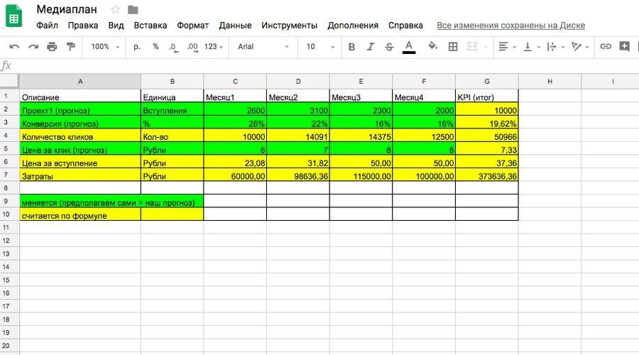 Таблицу для расчетов можете автоматизировать в Excel, например