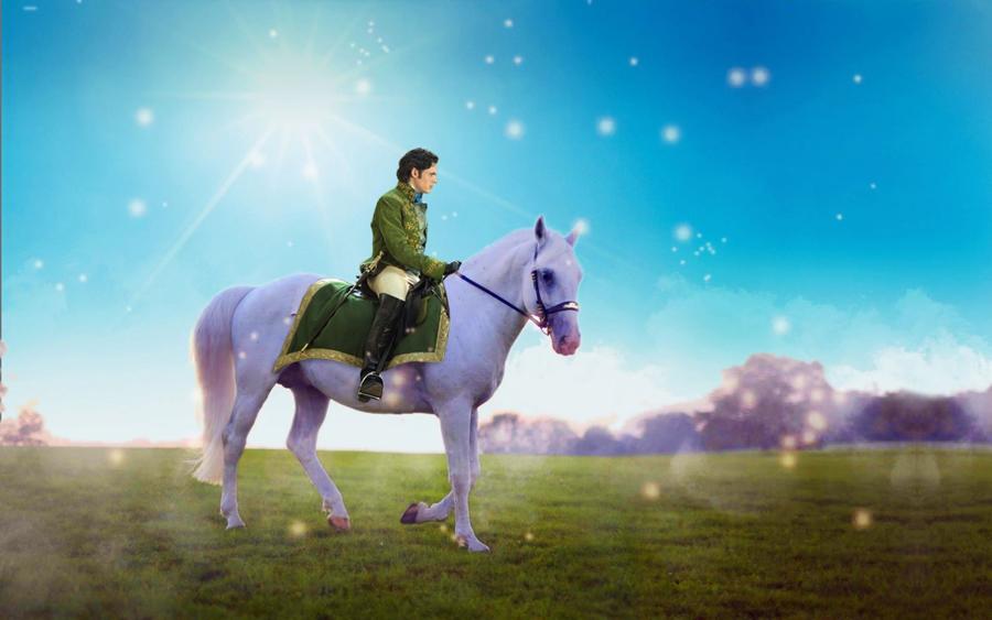 Открытка принц на коне, прикольные