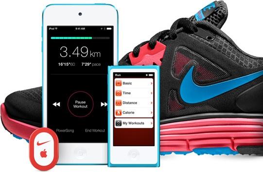 Кросс-маркетинг офлайн: серия кроссовок от Nike и Apple