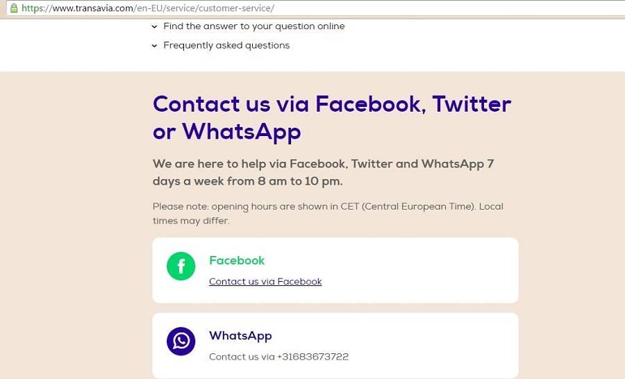 Поддержка клиентов через WhatsApp