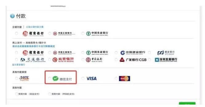 Если вы знаете китайский, то легко выберете вариант оплаты с помощью WeChat в официальном магазине Apple