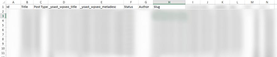 Готовый файл импорта для WordPress
