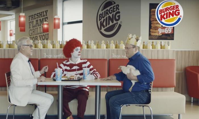 «Бургер Кинг» доказывает, чьи яйца круче и получает реакцию пользователей.