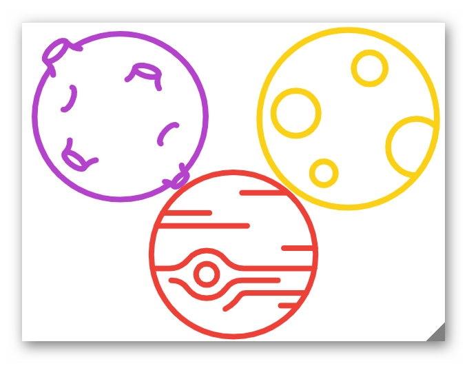 Как-то так, например, можно проиллюстрировать публикацию о космосе. Или доработать набросок с помощью других нейросетей
