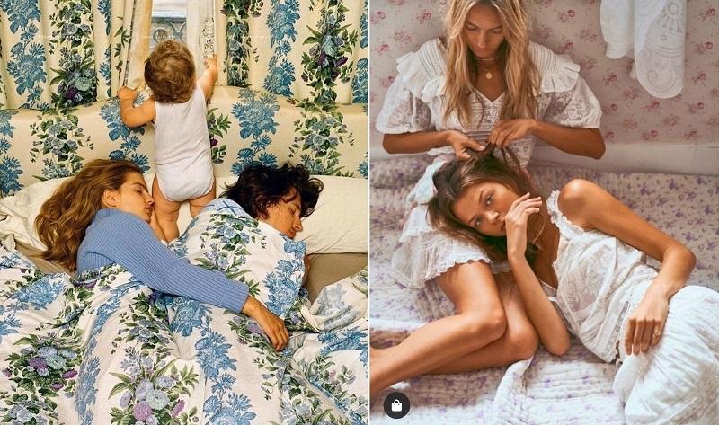 А семейные домашние фотографии сейчас хороши, как никогда. Подобные снимки, как грибы, появляются у многих брендов