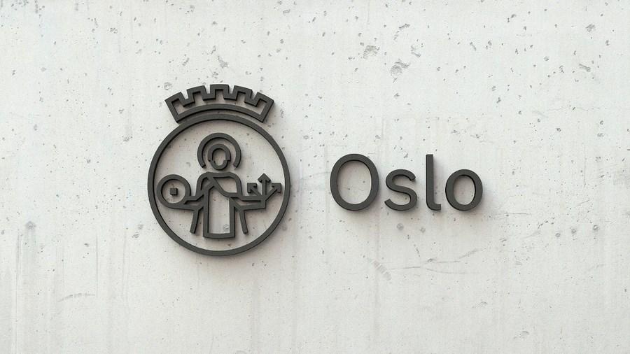 У Осло с начала прошлого века был герб в стиле ар-деко. Новый логотип – его переработка