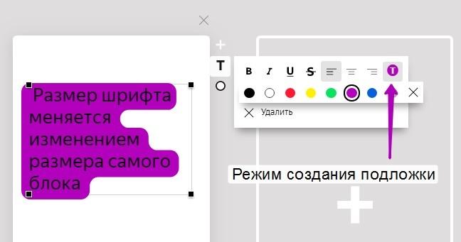 Возможности форматирования текста