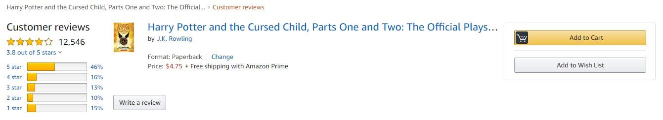 Вот отзывы о книге на Amazon, а сайт Target сейчас вообще недоступен