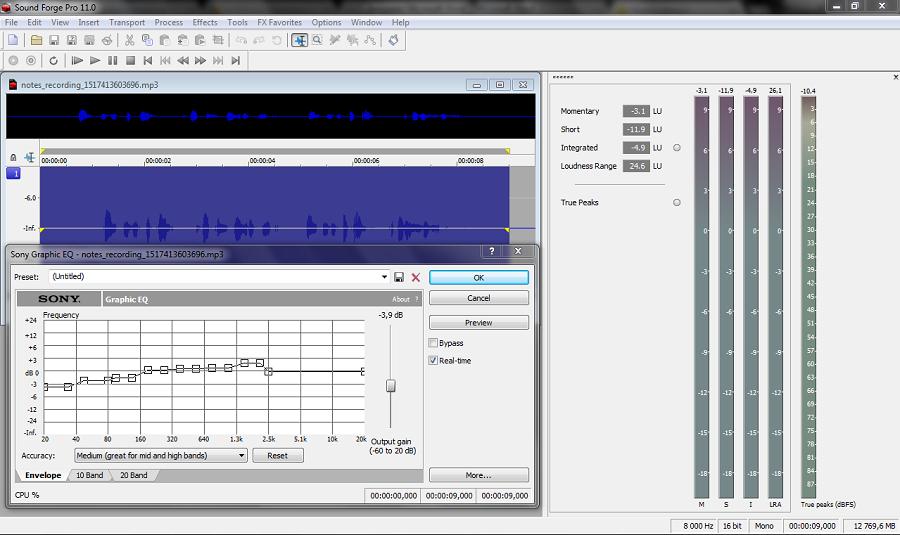 Обзор самых простых аудиоредакторов и советы по работе со звуком