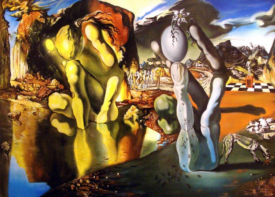 «Метаморфозы Нарцисса» Сальвадор Дали,1937