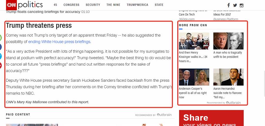 Дочитал новость? Читай другие новости CNN