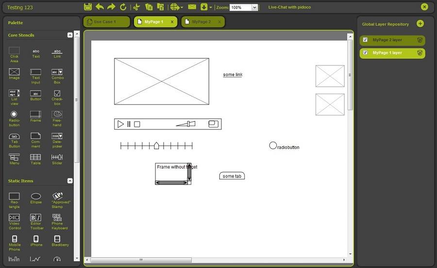 Как сделать прототип сайта фото 302