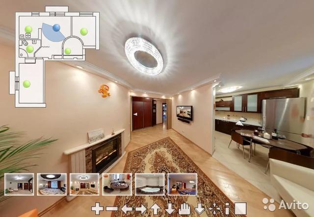 Пример виртуального тура в GoogleStreet-view