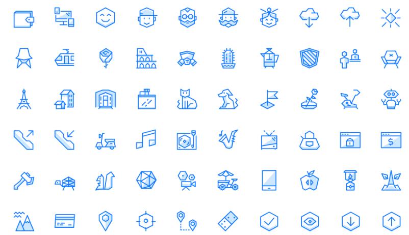 «Угловатые» иконки от Ego Icons