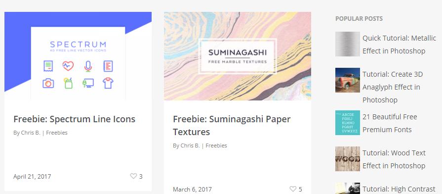 На dreamstale.com нет рубрикаторы, придется искать нужное среди всей «халявы»