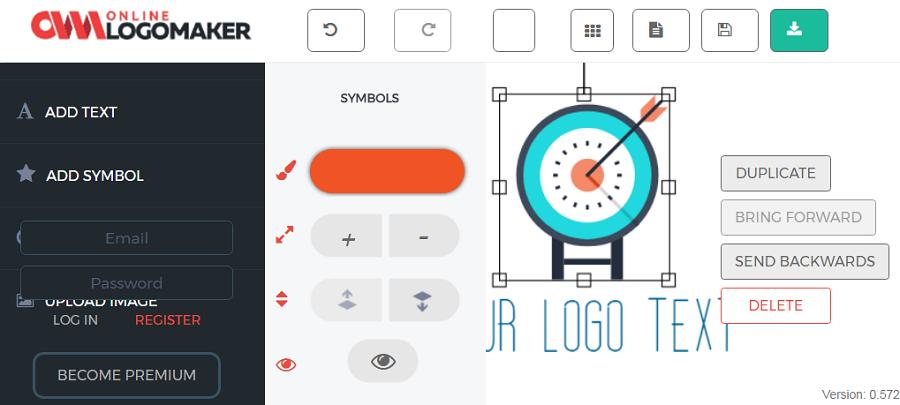 Начало работы в Logomaker