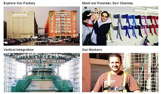На сайте American Apparel есть фотографии большинства сотрудников