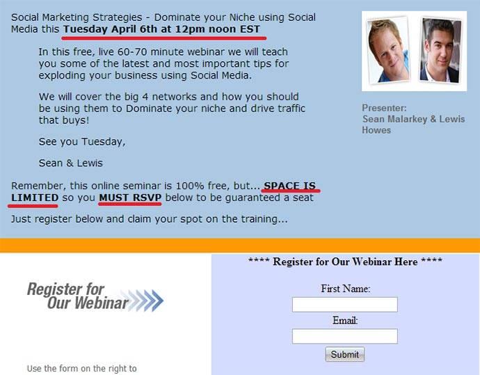 Анонс вебинара на сайте 500millionstrong