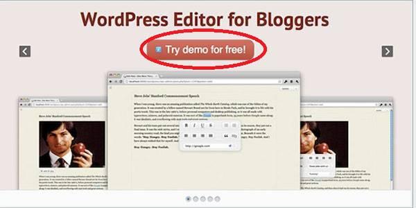 Одна СТА-кнопка: «Попробовать демо-версию бесплатно»
