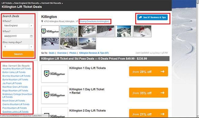 Слишком много информации может рассеивать внимание посетителей сайта
