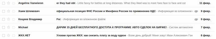 Господин Кощеев, символы Fw: в теме уменьшают показатель открытых писем
