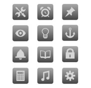 Непрозрачный фон делает все иконки одинаковыми