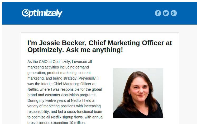 Джесси Бекер предлагает что-нибудь у нее спросить