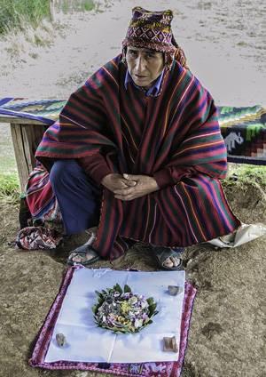 Перуанский шаман: персонификация архетипа Волшебник
