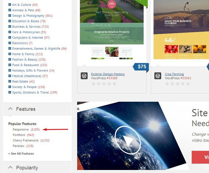 Веб-разработка: Просматриваем шаблоны с адаптивной версткой
