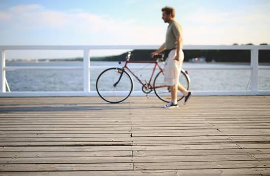 Иногда лучше пересесть с мотоцикла на велосипед