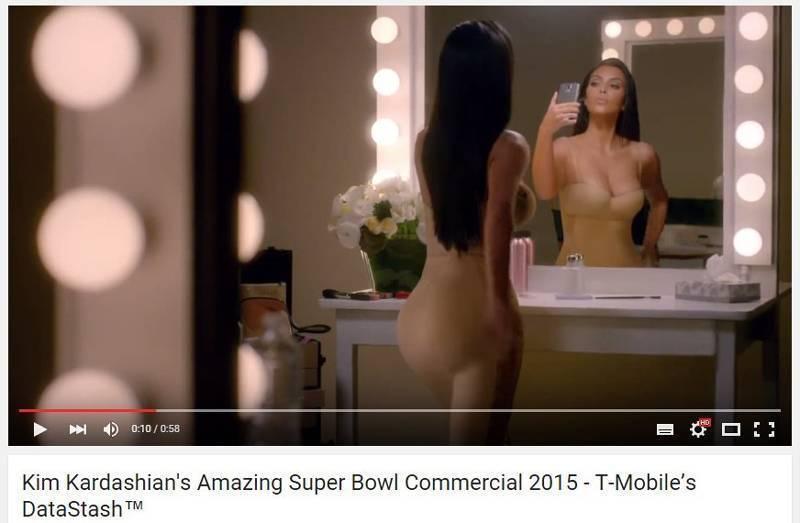 Неоспоримое социальное доказательство: Ким Кардашян в рекламе T-Mobile