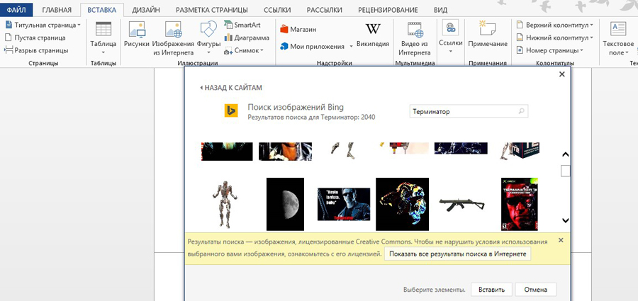 Ищем фотографии в интернете