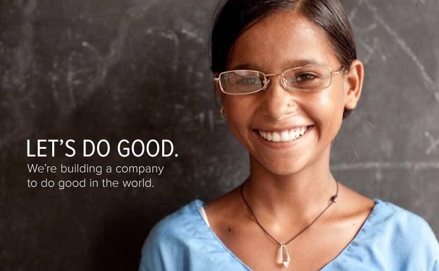 «Давайте делать хорошее. Мы строим компанию, чтобы сеять добро в мире»