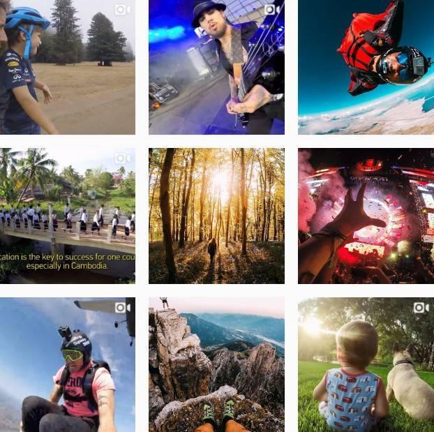«Инстаграм» GoPro богат интересным пользовательским контентом