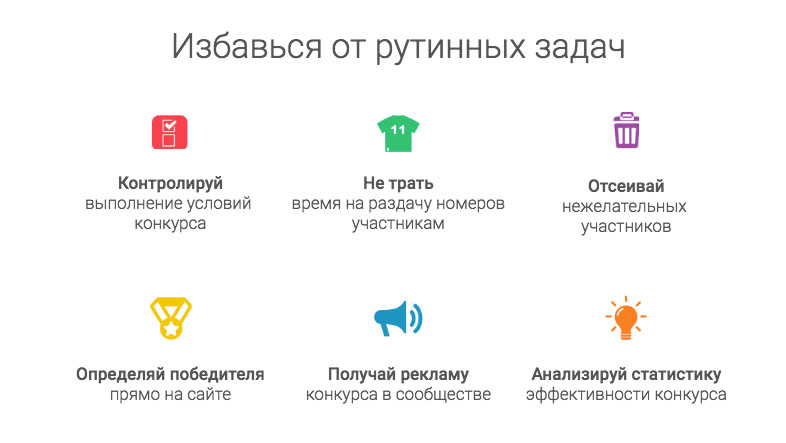 Возможности сервиса giveaways.ru