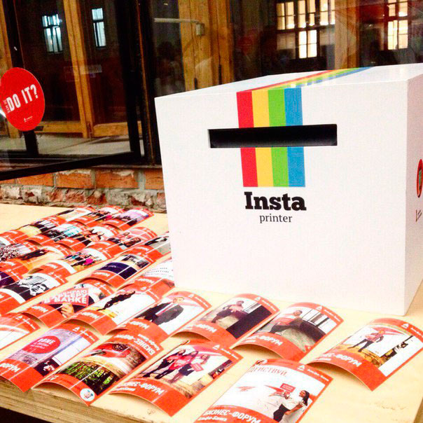 «Insta-принтер» с фотографиями – как минимум, интересно