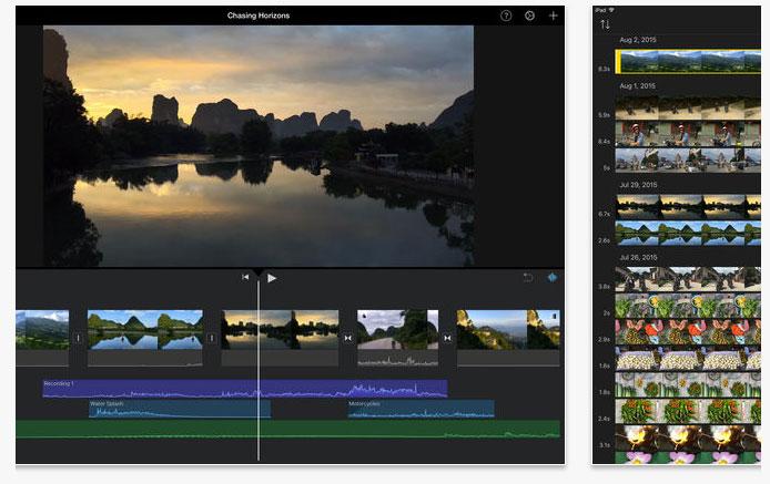 Удобный редактор для видеомонтажа на базе IOS
