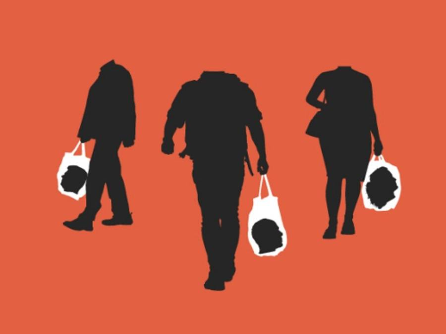 В погоне за трендовыми вещами люди нередко теряют голову