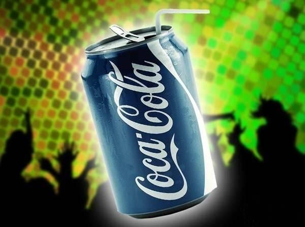 Синяя баночка «Кока Колы» куда менее привлекательна