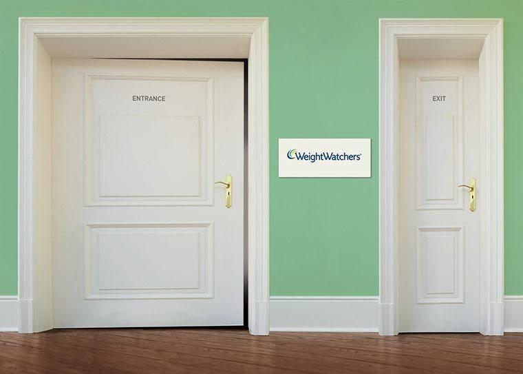 Отличный пример заточенности под потребности ЦА: реклама центра похудения