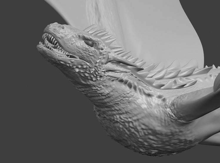 Пример масштабной трехмерной анимации из «Игры Престолов». Страшно представить, как моделировали каждую складочку на шкуре дракона… Конечно, для маркетинговых целей обычно используется менее сложные и дорогие 3D-модели
