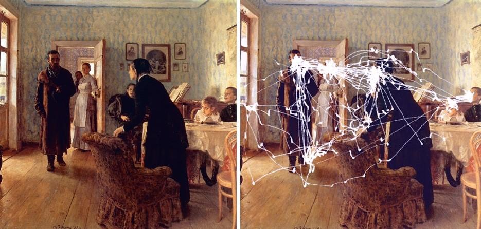Эксперимент на свободное разглядывание А. Ярбуса