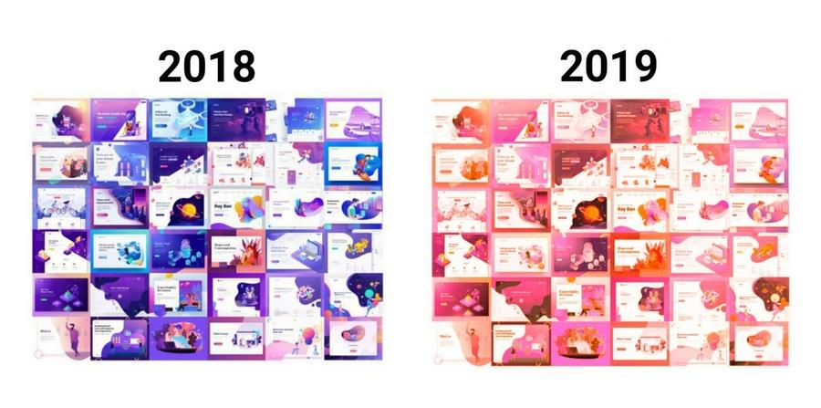 В прошлом году цветом года был «Ультра-фиолет»: в 2019 году все изменится :-)