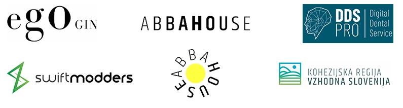 Примеры акцента на деталях в логотипах