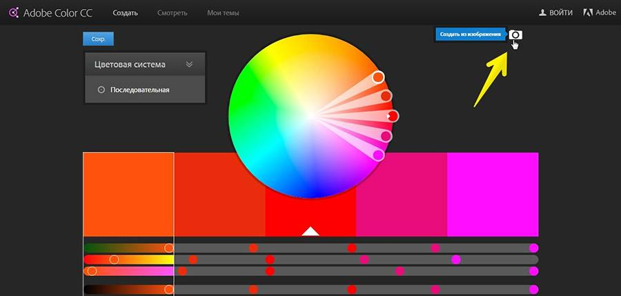 Сервис Adobe Kuler